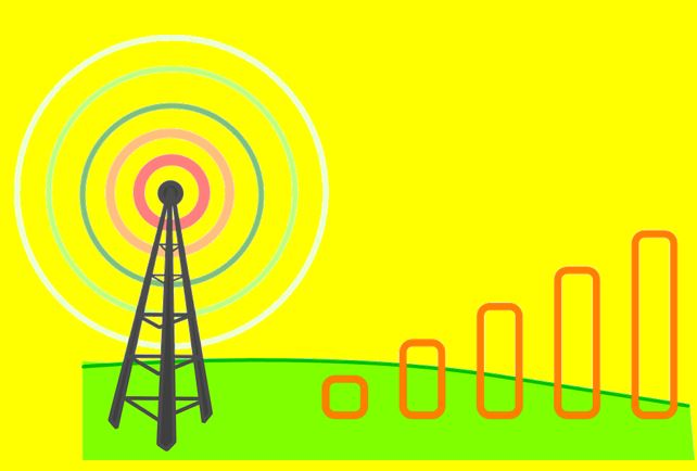How to improve mobile signal strength in home.