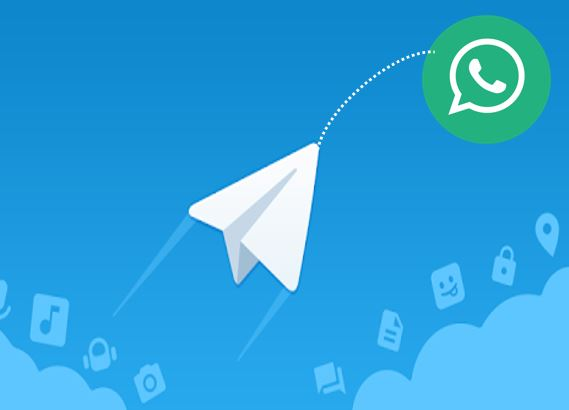 How to share media from Telegram to Whatsapp