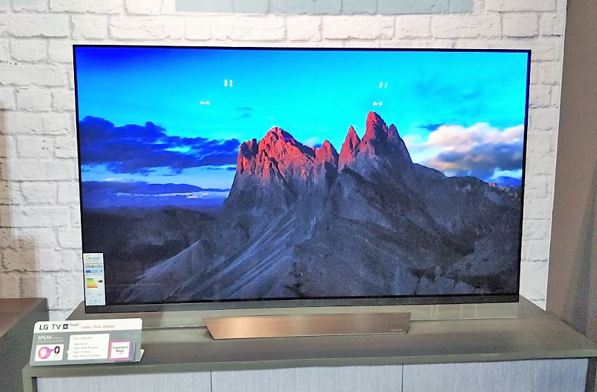 LG Artificial intelligence ThinQ Tv 2