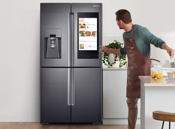 Samsung Launches IoT enabled Family Hub Refrigerator