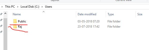 Saved cache files on Windows