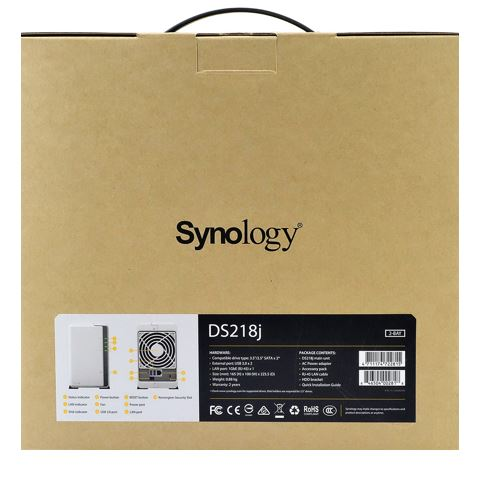 Synology DiskStation DS218j Review how2shout Box