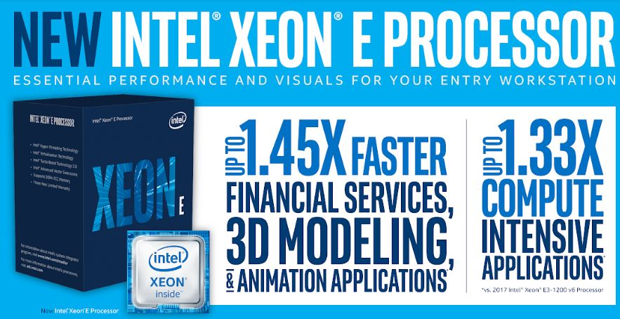 Technical Specifications of Intel Xeon E-2100 processor