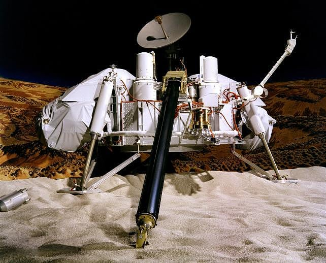 Viking Lander 1 Has found evidence of life 40 years ago