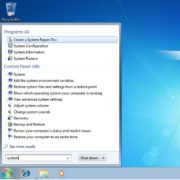Windows 7 – Create system restore repair disc