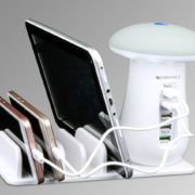 Zebronics launches ZEB-5CSLU3 A 5 port docking hub with Mushroom LED Lamp