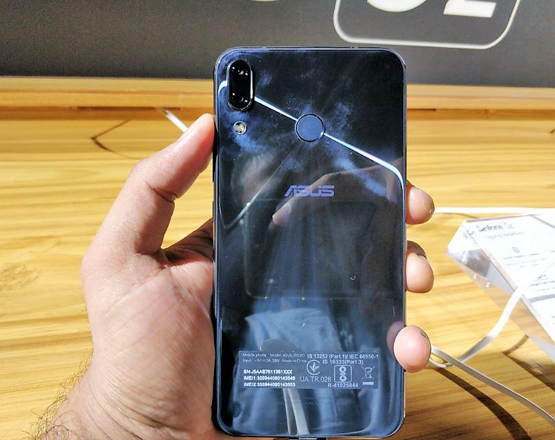Zenfone 5Z back
