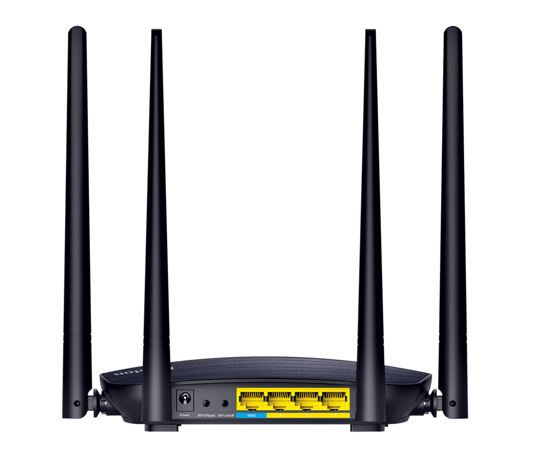 iBall Dual Band of 5 GHz 1200M AC Router ports