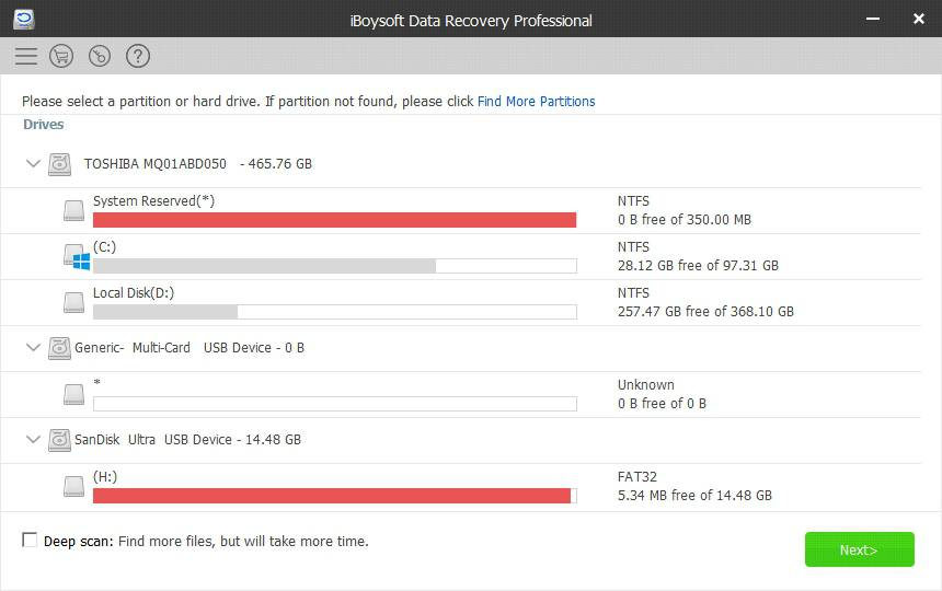 iBoysoft Data Recovery review on your computer