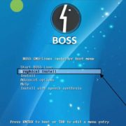 boss operating system installation