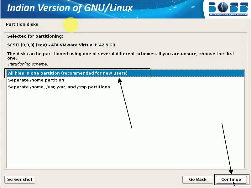 Indian version of GNU/Linux