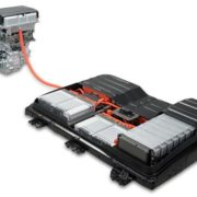 Battery pack and motor assembly for pure electric vehicles