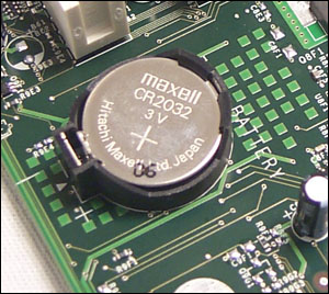 CMOS-battery eject