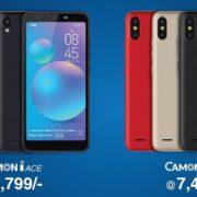 Camon iAce & CAMON iSKY 2 budget smartphones