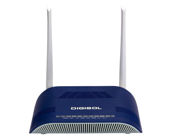 DIGISOL 300Mbps ONU Wi-Fi Router with Dual mode GEPON and GPON