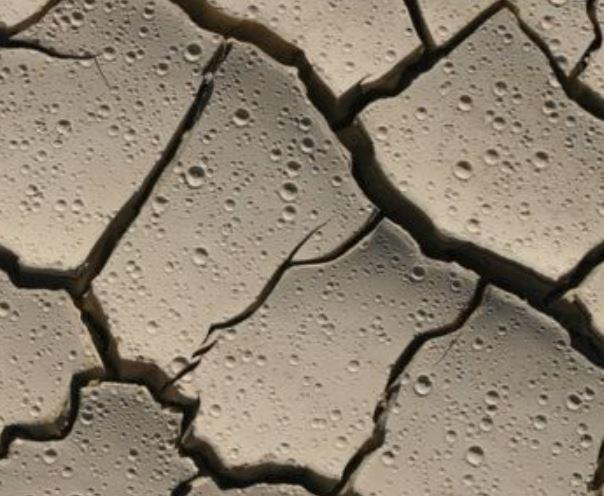 Dry soil smell