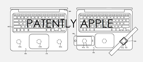 Future MacBook may use the iPhone as a touch screen