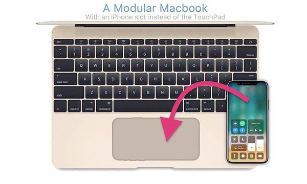 Future mac book screen