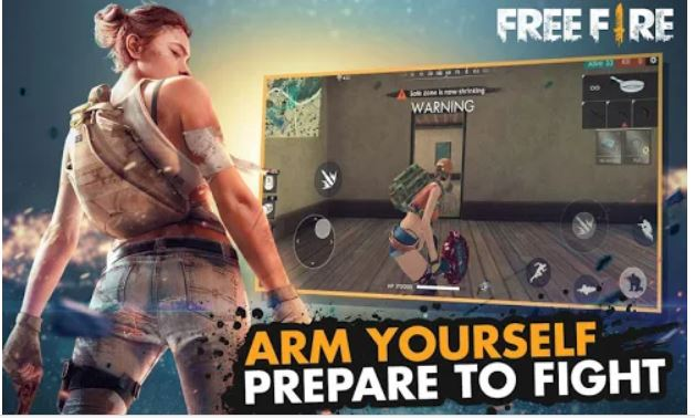 Garena Free Fire Battle Royale game for Mobile