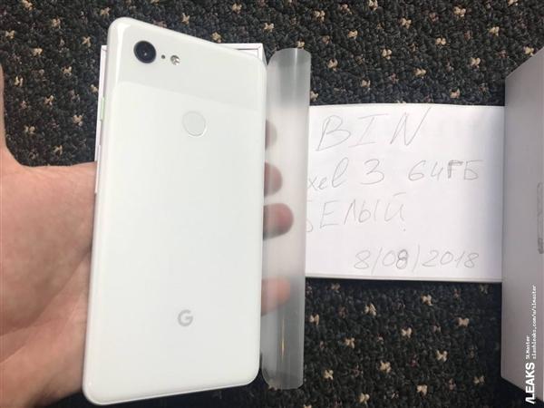Google Pixle 3 XL leak images 3