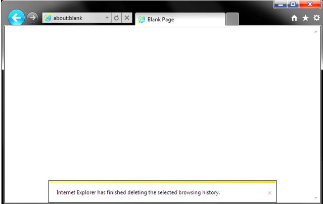 How to clear cache on Internet explorer 11, 10, 9 & 8