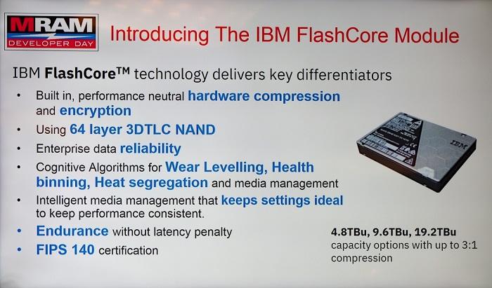 IBM flashcore module