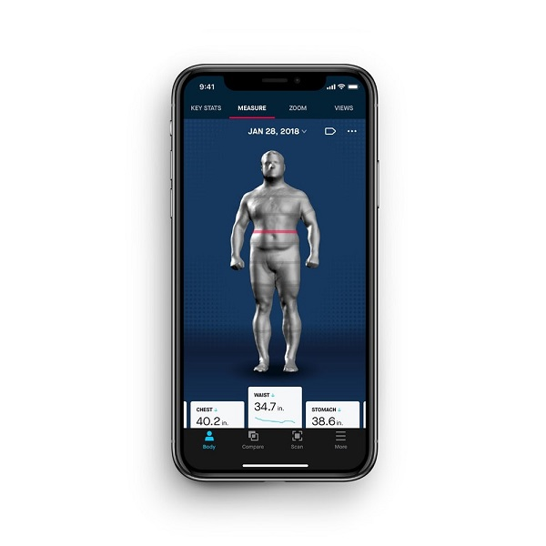 Naked Labs Launches Home 360° 3D Body Scanner 6