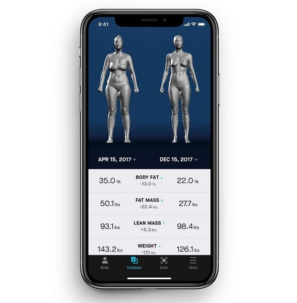 Naked Labs Launches Home 360° 3D Body Scanner 7