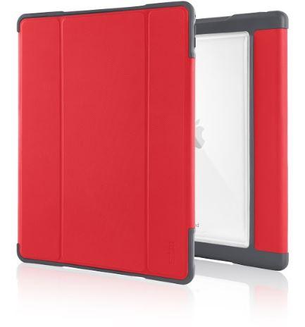 STM-dux-plus-iPad-Pro-12-red-front-rear-angle-L