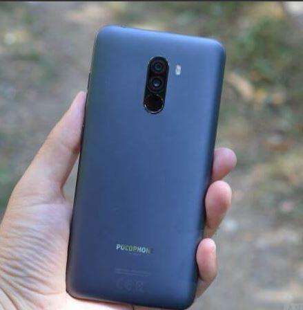 Xiaomi Poco rear side