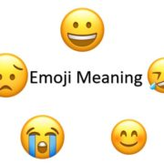 napchat emoji meanings including Facebook, Instagram and WhatsApp
