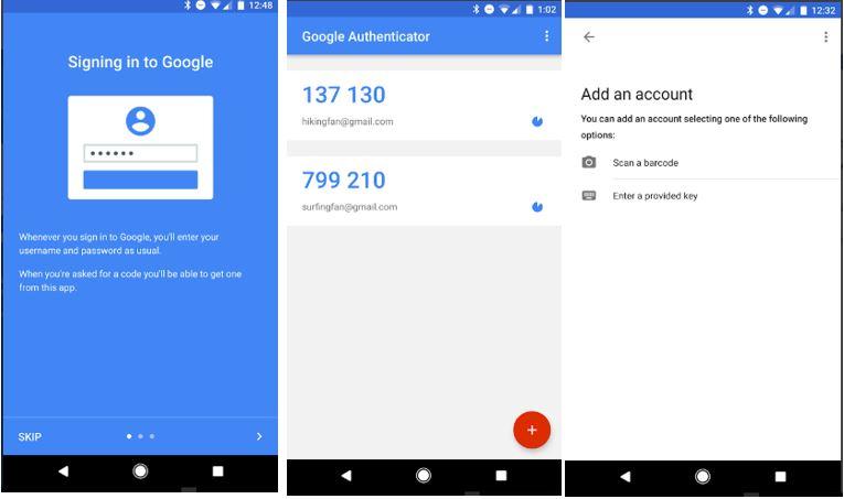 setup Google Authenticator app