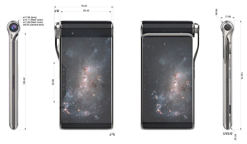 turning hubblephone design