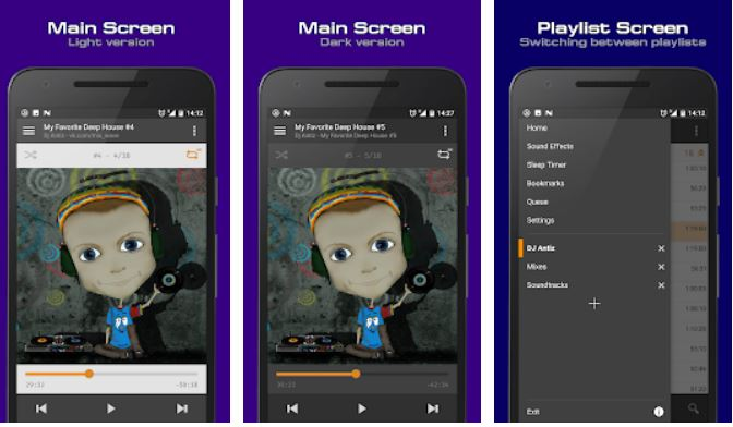 10 Best free Music Players apps for Android phones to