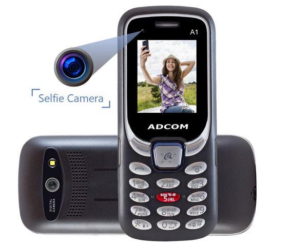 Adcom A1 Selfie – Dual Sim Mobile Phone with Selfie Camera1