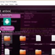 Anbox application on Ubuntu