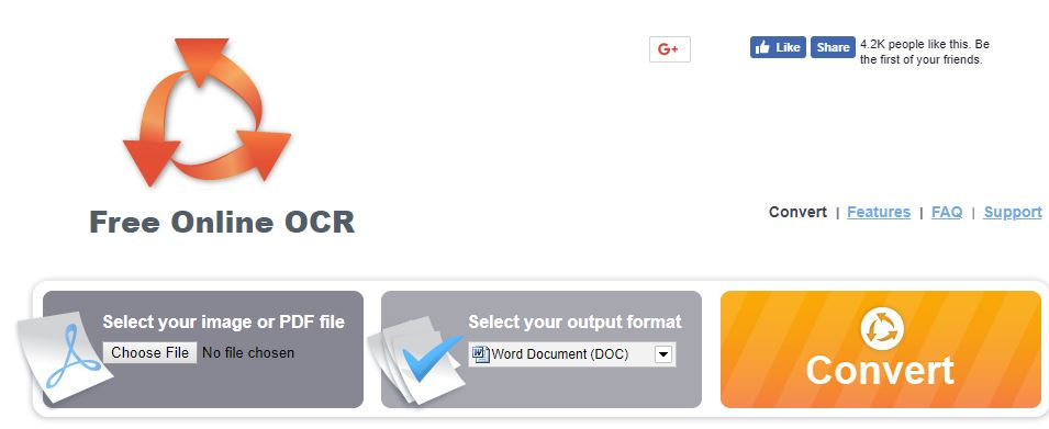 1. free online ocr - convert scanned pdf and images to word jpg