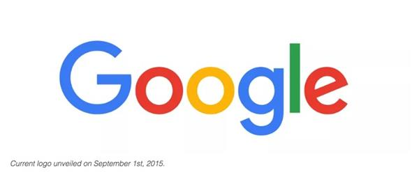 Google's new logo announced in 2015