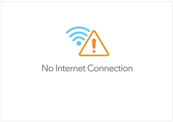 Internet Access Error