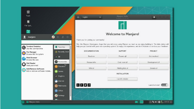 Manjaro Linux most popular Linux distro 2018