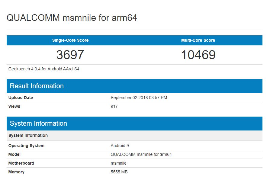 Qualcomm msmnile for arm64
