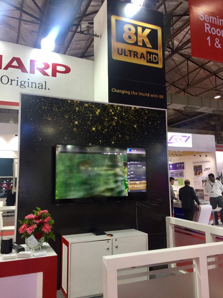 Sharp launches LV-70X500E 8K Professional Display