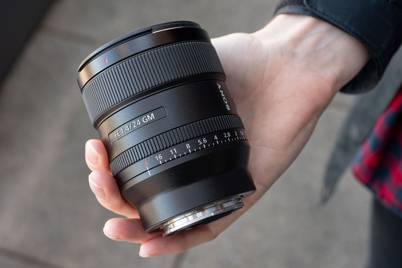 Sony 24mm F1.4 G Master lens 2