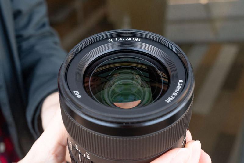 Sony 24mm F1.4 G Master lens 3