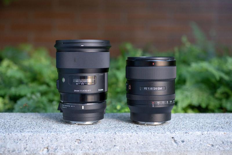 Sony 24mm F1.4 G Master lens 8