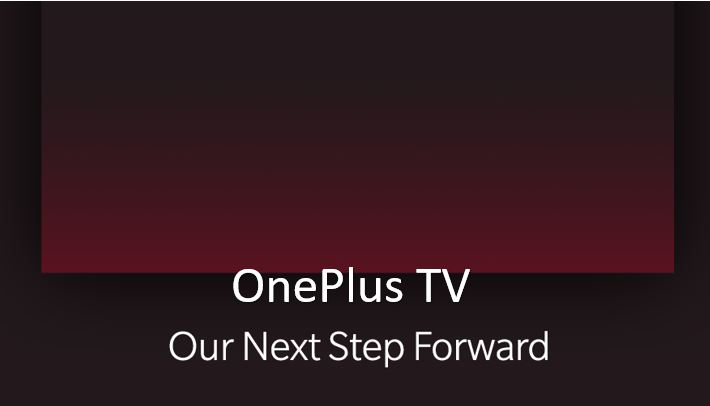Soon Oneplus will release smart TV called OnePlus TV