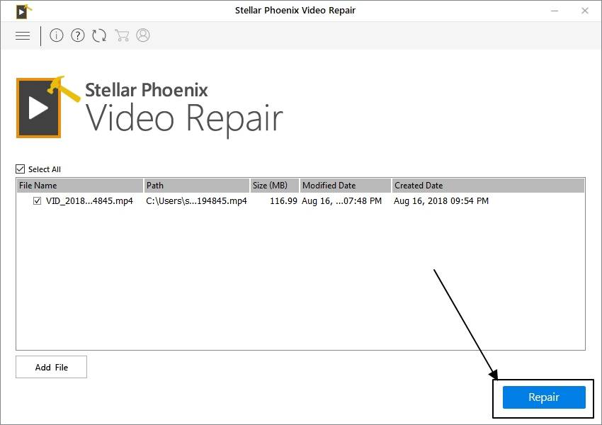Stellar Phoenix Video Repair software review 003