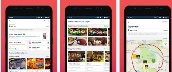 Zomato – Restaurant Finder and Food Delivery App