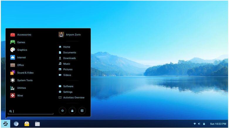 Zorin Linux alternative to Windows