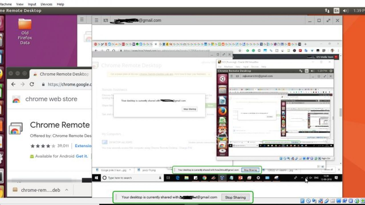 How to install & use Chrome Remote Desktop for PC | H2S Media